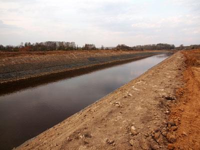 Спрямление русел рек